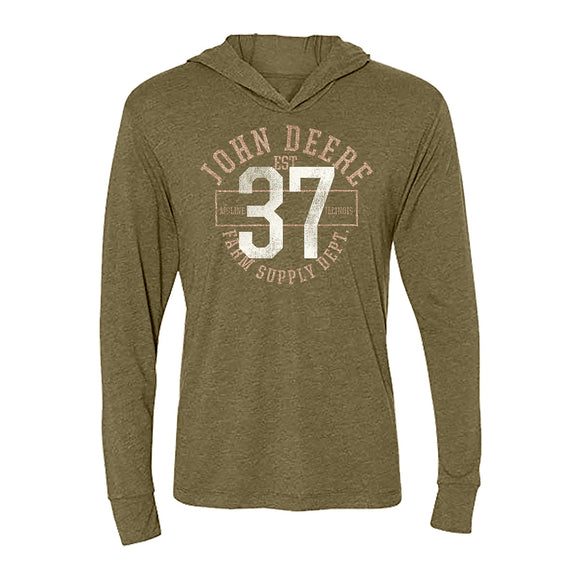 John Deere 37 Womens Hooded Tee