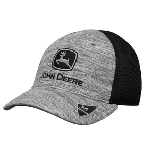 John Deere Kids Black Memory Fit Cap
