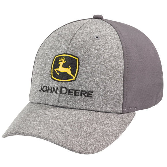 John Deere Heathered Gray Cap