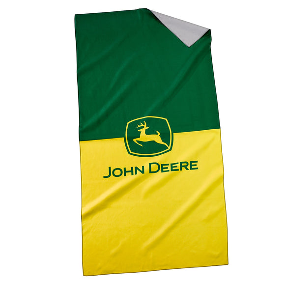 John Deere Quick Dry Beach Towel