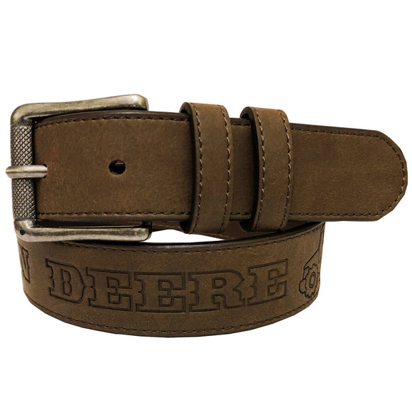 John Deere Boy's Embossed Tractor Belt