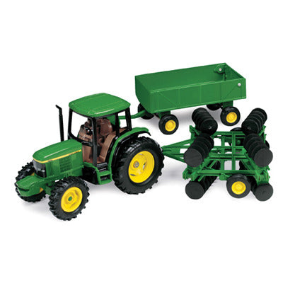 1/32 John Deere Tractor Barge Wagon wDisk