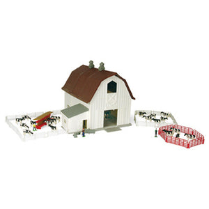 1/64 Dairy Barn Playset