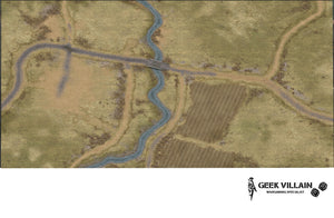 Wargaming Battle Mat 6x4 Countryside