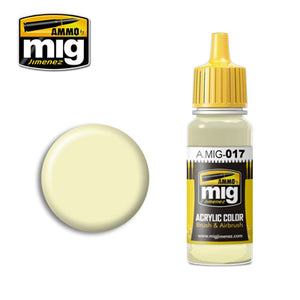 MIG017 RAL 9001 CREMEWEISS ACRYLIC PAINT