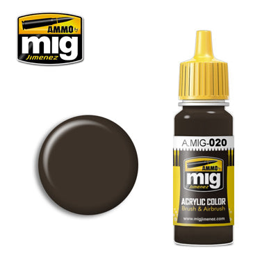 MIG020 6K RUSSIAN BROWN ACRYLIC PAINT