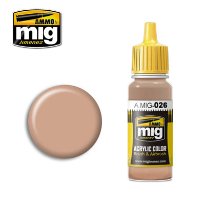 MIG026 RAL 8031 F9 GERMAN SAND BROWN ACRYLIC PAINT