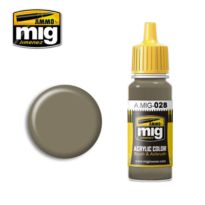 MIG028 RAL7050 F7 GERMAN GREY BEIGE ACRYLIC PAINT