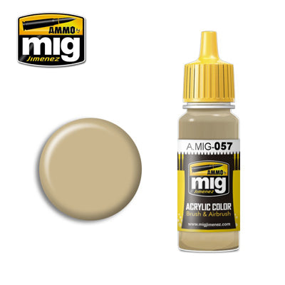 MIG057 YELLOW GREY ACRYLIC PAINT