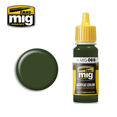 MIG065 FOREST GREEN ACRYLIC PAINT