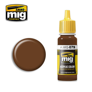 MIG079 CLAY BROWN ACRYLIC PAINT