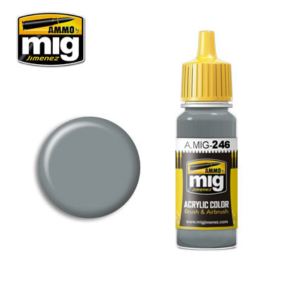 MIG246 MEDIUM SEA GREY (BS637) ACRYLIC PAINT