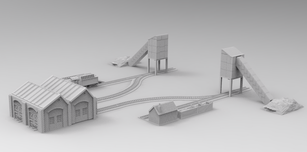 Coal Yard 28mm/15mm/6mm
