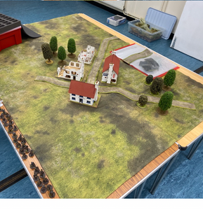 Wargaming Battle Mat 6x4 Muddy plains