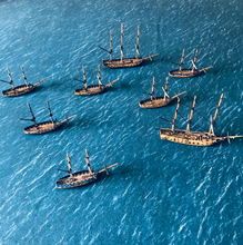 Load image into Gallery viewer, Wargaming Battle Mat 6x4 Blue Sea