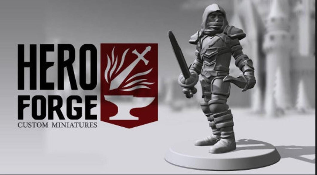 Hero Forge Print Service