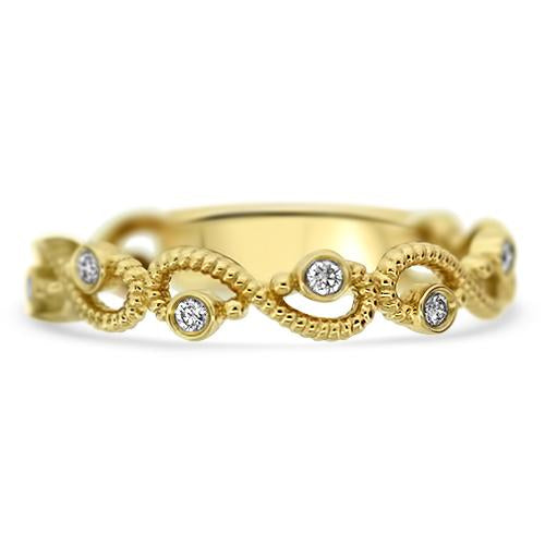 Yellow Gold Stacker