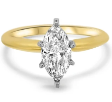 Marquise Solitaire Engagement Diamond Ring