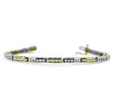 2.02CTTW Lovely Diamond Bracelet