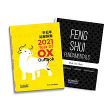 Load image into Gallery viewer, 2021 Kanyin Notebook + (E-Book & Physical Book) Bundle of Feng Shui Fundamentals & 2021 Year Of Ox Outlook