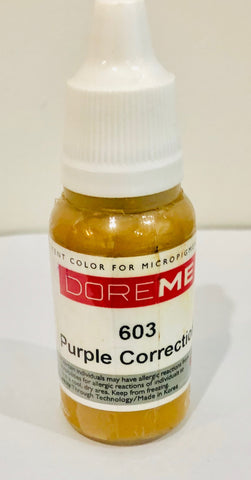 Doreme  Purple Cosmetic Tattoo Correction Pigment $29