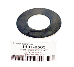 ".070"" SHIM FOR OPEN BELT DRIVES. - Rivera Primo"