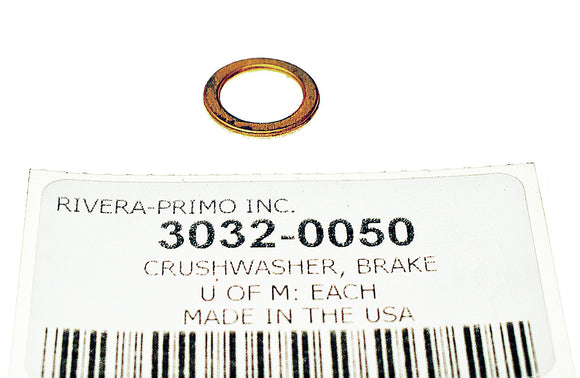 10 MM CRUSHWASHERS. - Rivera Primo