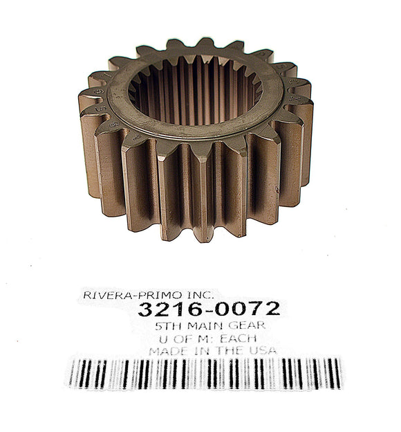 19T COUNTERSHAFT DRIVE GEAR. FITS SPORTSTER 5 SPEED TRANSMISSIONS. - Rivera Primo