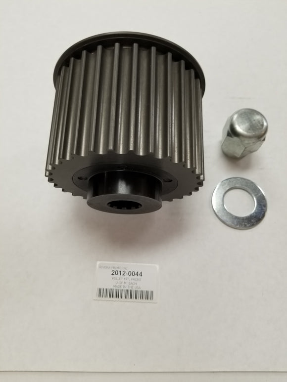 Front Pulley Kit, 3/4