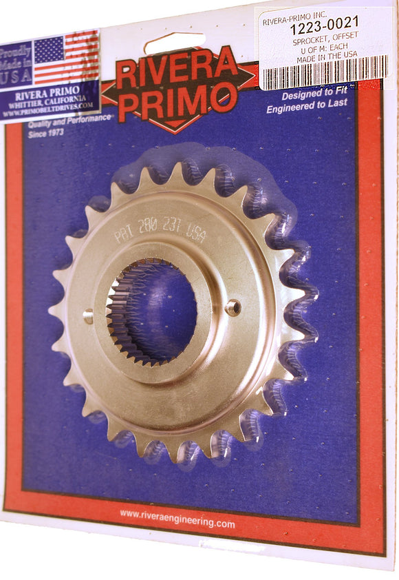 23 T TRANS FINAL DRIVE SPROCKET WITH .250
