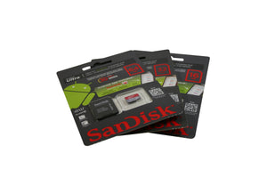32 GB CLASS 10 ULTRA MICRO SD MEMORY CARD BY SANDISK. RETAIL PACKAGE WITH CLAMSHELL - Rivera Primo