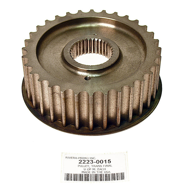 32 TOOTH TRANS FINAL DRIVE PULLEY. FITS 1994 & LATER. - Rivera Primo