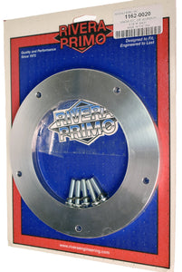 "3/8"" ALUMINUM DERBY COVER SPACER KIT. - Rivera Primo"