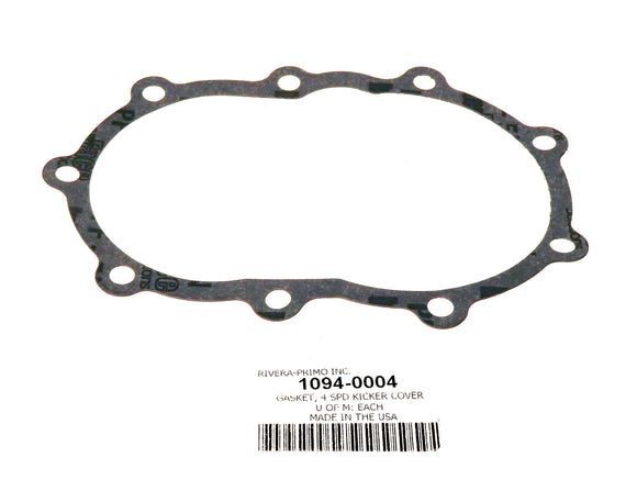 4 Speed Transmission Kicker Cover Gasket - Rivera Primo