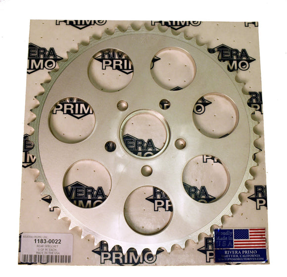 51 TOOTH FLAT CHAIN DRIVE SPROCKET. - Rivera Primo