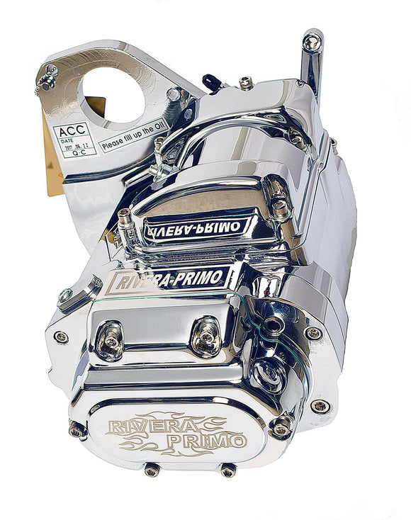 6 SPEED LSD CHROME ASSY. 1989-1999 SOFTAIL STYLE FRAMES. - Rivera Primo