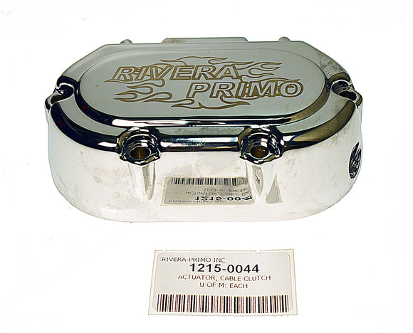 Actuator, Cable Clutch Chrome Assy - Rivera Primo