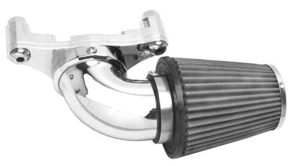 AIR CLEANER ASSEMBLY THAT IS SWEPT FORWARD. COMES WITH K & N TYPE FILTER - Rivera Primo