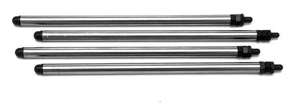 Andrews Aluminum Pushrods and Adjusters (set of 4) FITS SHOVELHEADS - Rivera Primo