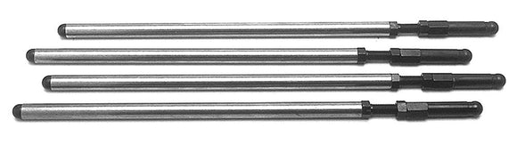 Andrews Aluminum Pushrods Non-Adjustable 91-up sportster (fixed) (4) - Rivera Primo