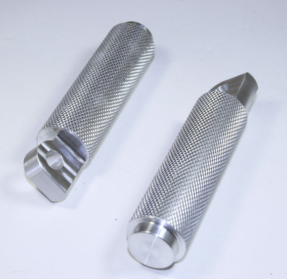 A.R.T BILLET ALUMINUM KNURLED FOOT PEG SET - Rivera Primo