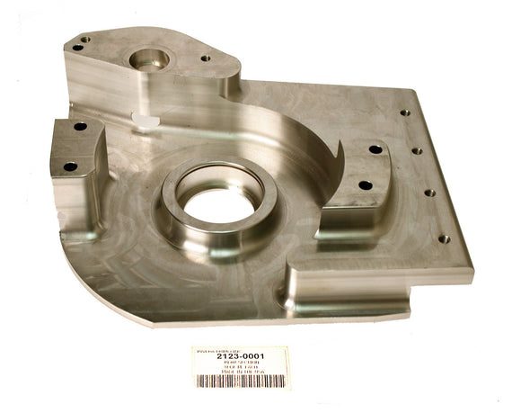 AS MACHINED BEARING SUPPORT (REAR SECTION) SOFTAIL. - Rivera Primo