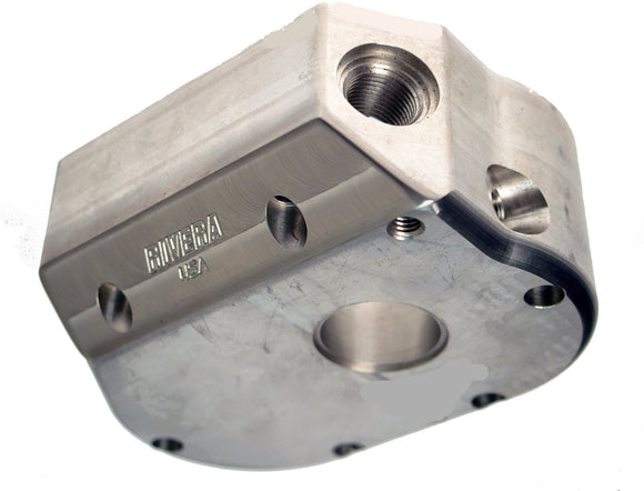 AS MACHINED BILLET ALUMINUM 6 SPEED KICKER COVER - Rivera Primo