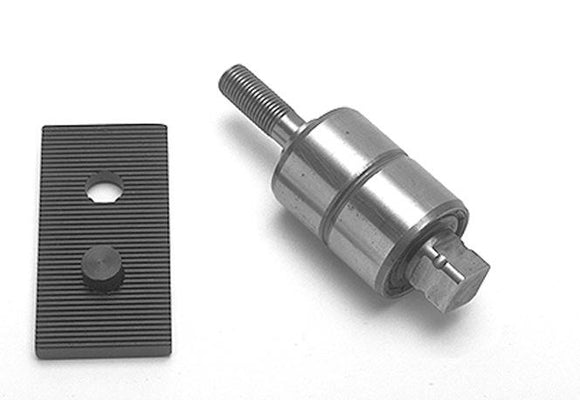 BEARING, IDLER THREADED WITH SERRATED MOUNTING PLATE - Rivera Primo