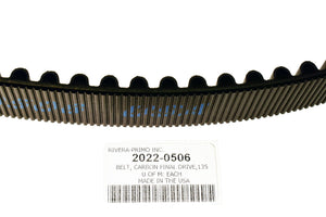 "BELT, FINAL DRIVE 1.5""W 135T 14MM - Rivera Primo"