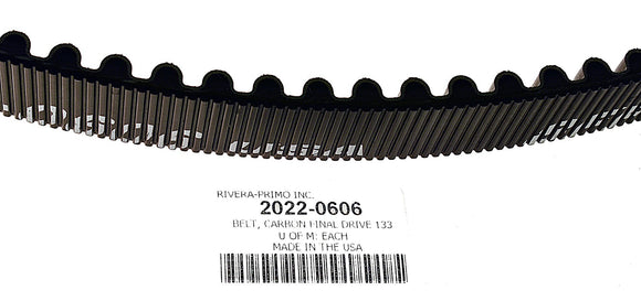 BELT, FINAL DRIVE 33MM W 133T 14MM - Rivera Primo
