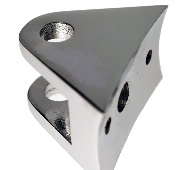 Bracket, Lamp Chrome Clevis Type Lamp Bracket - Rivera Primo