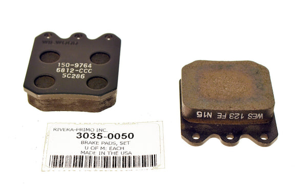 BRAKE PADS.FITS WD & WDP CALIPERS. - Rivera Primo