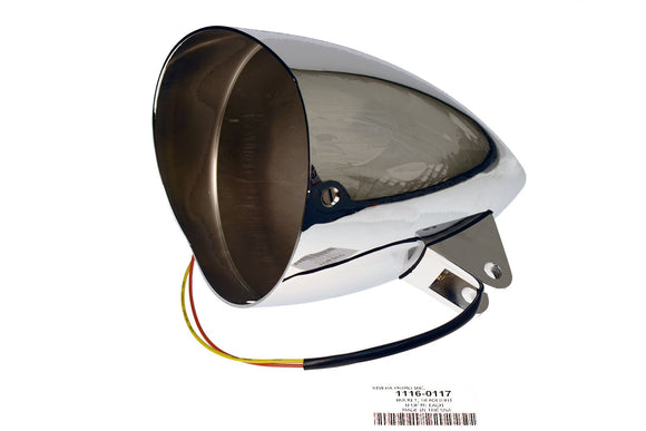 Bucket, Headlight Chrome - Rivera Primo