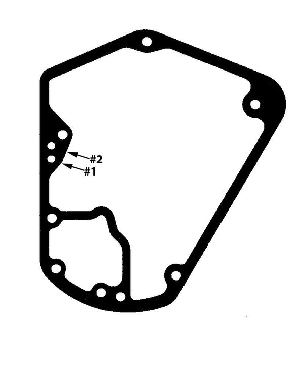 CAM COVER GASKET. FITS 1993-1999 BIG TWIN CAM COVER. (PACKAGE QTY 5). - Rivera Primo